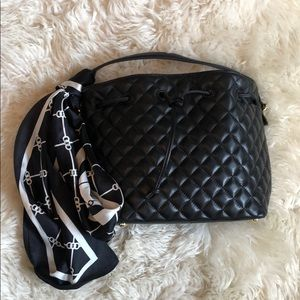 Talbots Bags - Talbots quilted bag + scarf!